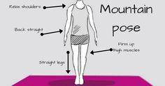 How to do Tadasana (Mountain Pose) and benefits of Tadasana