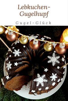 Heavenly gingerbread delight from Gugelhupf You probably don& know that yet . - Heavenly gingerbread enjoyment from Gugelhupf You probably don& know that yet – a gingerbre - Cupcake Recipes, Baking Recipes, Gingerbread Cake, Cupcake Cookies, Cakes And More, Christmas Baking, Coffee Cake, Yummy Cakes, No Bake Cake