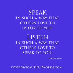 More Beautiful Words have only been spoken by 3+1