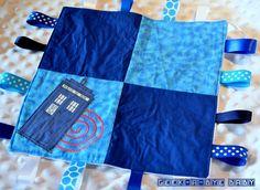 Tardis-Inspired Geeky Blanket