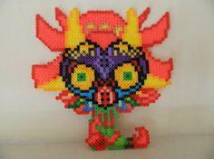 Perler Bead - Majora's Mask by o-TraumaTize-o