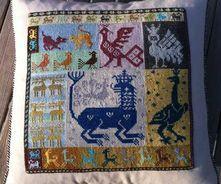 pude Cross Stitch Embroidery, Cross Stitch Patterns, Embroidery Dress, Palestinian Embroidery, Boho Inspiration, Needlepoint Designs, Ethnic Patterns, Fabric Beads, Needlework