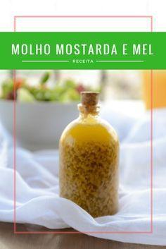 molho mostarda e mel para saladas