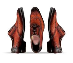 MODEL SB105 LAST: 3376 LEATHER: Calf Skin SOLE: Full LEATHER, 8mm Thickness COLOR: Anilkiss Cuio Calf