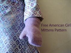 Free American Girl Mittens pattern