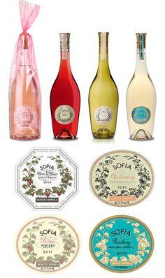 Sofia Branding - packaging, package design , graphic design , labels , label design , bottles , liquor