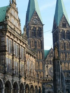 Bremen, Germany~ Mom's hometown