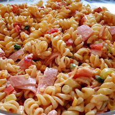 Cookbook Recipes, Cooking Recipes, Pasta Salad, Salads, Food And Drink, Ethnic Recipes, Greek Quotes, Crab Pasta Salad, Cooker Recipes