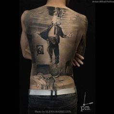 Back Tattoo Best Tattoo Ideas Gallery Hello! Here we have nice picture about back tattoo designs. We hope these photos can be your li. Bild Tattoos, Neue Tattoos, Top Tattoos, Great Tattoos, Body Art Tattoos, Sleeve Tattoos, Crazy Tattoos, Tatoos, Backpiece Tattoo