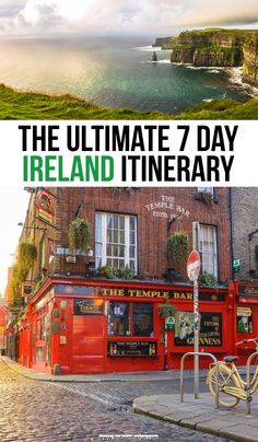 The Ultimate 7 Day Ireland Itinerary | how to spend 7 days in Ireland | planning a week in Ireland | how to see Ireland in 7 days | the perfect Ireland itinerary you should steal | how to plan a trip to Ireland | Ireland travel tips #ireland