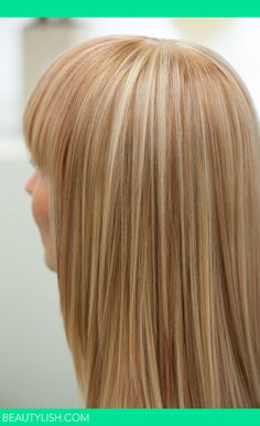 """Perfect blond highlights made with new tool from Europe called """"WEAVGO"""""""