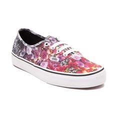 Vans Authentic Floral Fade Skate Shoe 7.5 womens