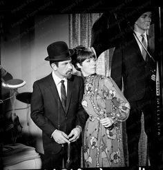 8x10 Print Don Adams Barbara Feldon Get Smart 1966 #DA833