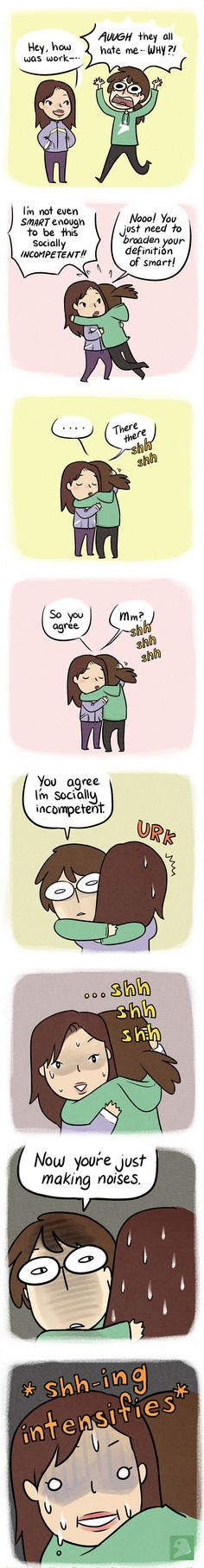 10+ Hilarious Comics For Socially Awkward People