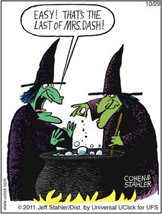 Only witches would use that stuff. Halloween Meme, Halloween Cartoons, Holidays Halloween, Halloween Signs, Vintage Halloween, Happy Halloween, Funny Cartoons, Funny Memes, Hilarious