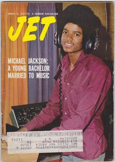 Michael Jackson Young Bachelor Pop Singer Vintage JET Ebony News Magazine 1977