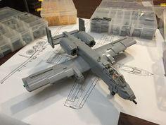 "A-10 Thunderbolt II (Warthog aka ""Hawg"") | by Daniel Siskind"