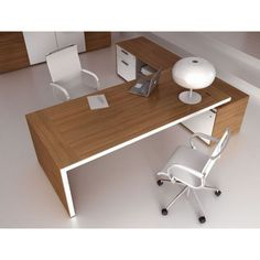 Top 10 Stunning Home Office Layout Bureau Design, Office Table, Office Decor, Open Office Design, Cabinet Medical, Home Office Layouts, Workspace Desk, Minimalist Office, Meeting Table
