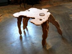 Crab Table by Dubewoodworks on Etsy