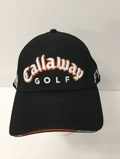 7bf127c4476 Callaway Hat Golf Cap Black New Era FT3 HXTour Mesh Back New Without Tags   NewEra