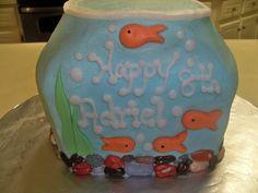 Fish Bowel Cake