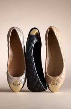 flats for fall! #toryburch