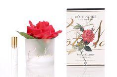 Côte Noire Perfumed Natural Touch #Rose- Carmine Red $30 #cotenoire