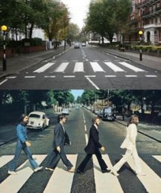 CHECK! The zebra crossing at Abbey Road in England.  Yes, we walked this crossing area numerous times trying to capture a picture. Very cool to see.