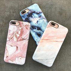 A few of our best sellers for iPhone 7 iPhone 7 Plus The Marble Case in Rose, Smoked Coral Geode from Elemental Cases - http://amzn.to/2h26UWh