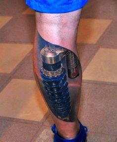 #Calf #Tattoo - http://tatuaze.net.pl/u/calf-tattoo