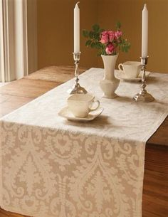 Downton Abbey table runner