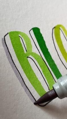 Bullet Journal Paper, Bullet Journal Lettering Ideas, Bullet Journal Notebook, Bullet Journal School, Bullet Journal Ideas Pages, Bullet Journal Inspiration, Hand Lettering Art, Hand Lettering Tutorial, Bullet Journal Aesthetic