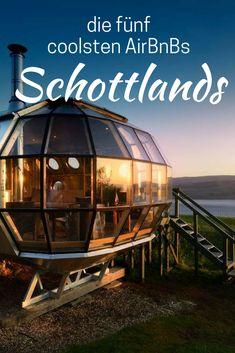 Luftschiff, luxuriöse Hundehütte oder gleich ein ganzes Cottage: Schottland hat eine riesige Auswahl an Unterkünften. In diesem Artikel zeige ich dir die schönsten fünf Unterkünfte Schottland für deinen Schottland Roadtrip.