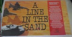A-LINE-IN-THE-SAND-1991-TSR-WAR-STRATEGY-BOARD-GAME-NIB-SHRINK-WRAPPED-IRAQ-BUSH