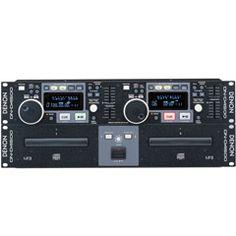 Denon DJ DN-D4500 Dual CD Player, MP3 w/Hot Starts & Seamless Looping