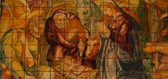 Retábulo Nossa Senhora da Vida, Museu do Azulejo. - Uma das primeiras obras-primas da azulejaria, este é um conjunto de 1498 azulejos criado em 1580. Atribuido ao pintor Marçal de Matos, cobriu a Capela de Nossa Senhora da Vida na Igreja de Santo André que se situava próximo do castelo. Representa o nascimento de Cristo e usa uma grande quantidade de tonalidades para criar a ilusão de tridimensionalidade