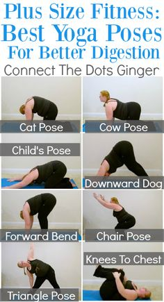 Connect the Dots Ginger | Becky Allen: Plus Size Fitness: Best Yoga Poses To Help With Digestion