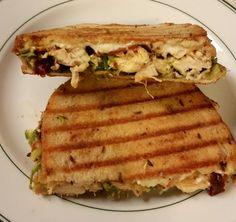 Asparagus Pesto Chicken Sandwich by A Hole Lotta Cheese