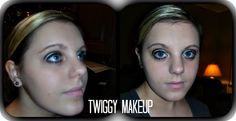 Hah i look terrible, but i did Twiggy Make-up!!!!!!!!!!