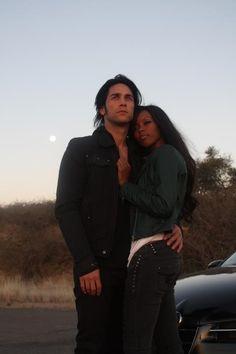 "Stefan Ludik and Gal Level for the music video ""Black Girl, White Boy'"