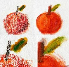 Painting with watersoluble crayons and pencils - Image: ©2007 Marion Boddy-Evans. Licensed to About.com, Inc