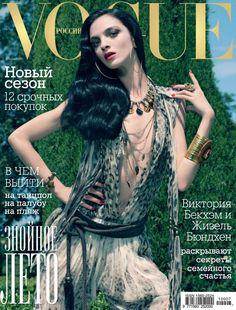 Mariacarla Boscono VOGUE Russia #7 2010 Natasha Poly Barbara P, Reina, Shena