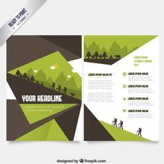 Abstract Yellow Business Flyer Template Free Vector  Print Design