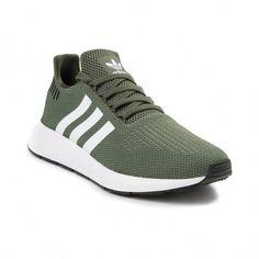 9de241131ac0c Womens adidas Swift Run Athletic Shoe - Olive White Black - 436657  Sneakers
