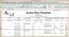 Action Plan Templates Word Simple Leslie Figueroa Lfigg68 On Pinterest