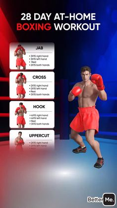 Boxer Workout, Boxing Training Workout, Home Boxing Workout, Best Gym Workout, Workout Planner, Fitness Planner, Workout Videos, Workouts, Boxing Techniques