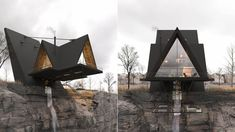 The Iranian Architect & Interior designer Milad Eshtiyaghi has evnisioned a suspended cliff house planned to be built in #Mendocino, #California, USA. #architecture #architect #amazingarchitecture #design #interiordesign #interiordesigner #decor #homedecor #home #house #luxury #diy #travel #amazing #photography #realestate #casa #arquitecto #arquitectura #decoration #cliff #cliffhouse #cabin #suspended #suspendedhouse #render #vray #3d #lumion #nature #unitedstates #3dsmax #houseplan Residential Architecture, Amazing Architecture, Mendocino California, Cliff House, Pacific Palisades, Road Trip Usa, Modern House Design, 3 D, House Plans