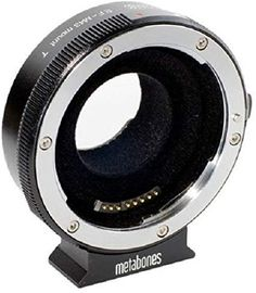 Metabones T Smart Adapter for Canon EF Lens to Micro Four Thirds Camera for sale online Canon Ef Lenses, Canon Eos, Lente Canon, Camera Aperture, Camera Lens, Sony, Panasonic Camera, F Stop, Aperture