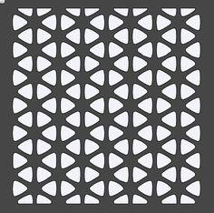 Hexagon Stencil 12x12 by HouseofDavis on Etsy