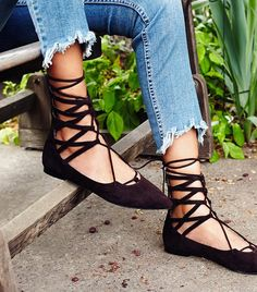Free People Shay Lace-Up Flats